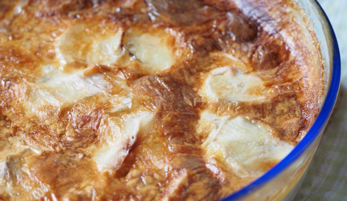Topinambur Kartoffeln Erdäpfel Rezept Auflauf Gemüsegarten